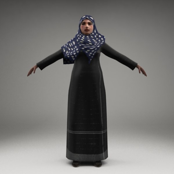 3d model axyz characters human