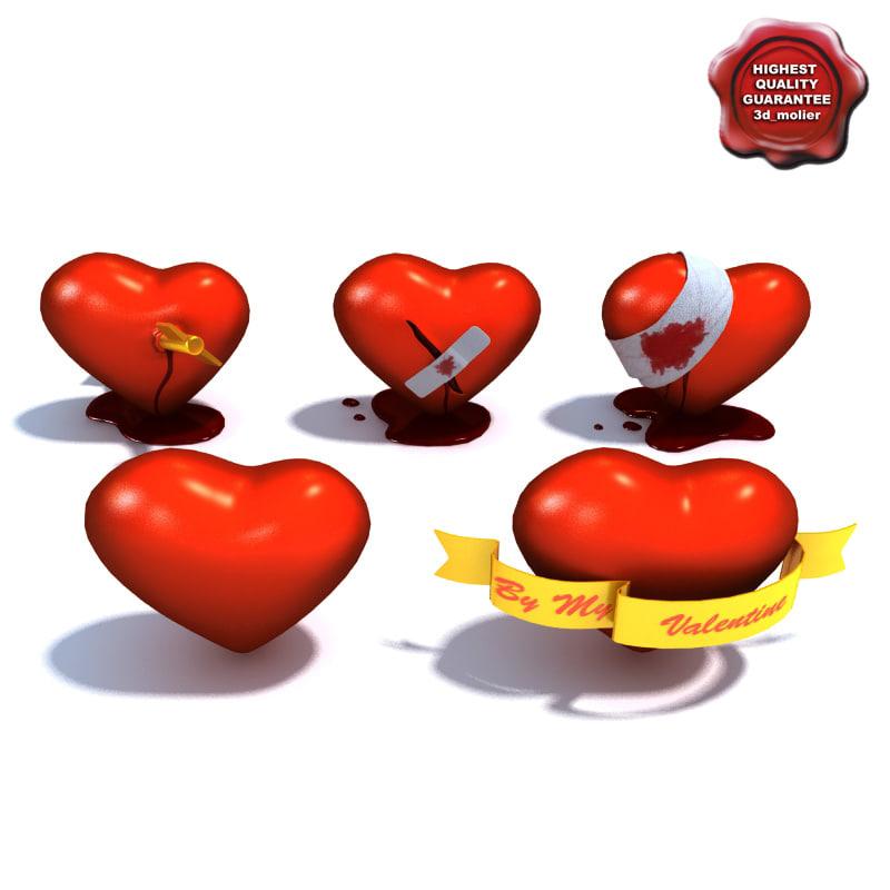battle hearts 3d max