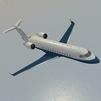 lightwave challenger 850 business jet