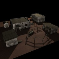 farmstead adobe zipped 3d 3ds