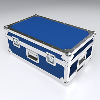 3d model of speedster flight case