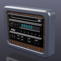 3dsmax in-dash-radio cd player