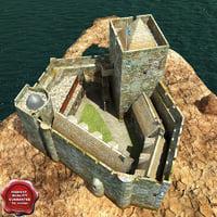 3d kisimul castle