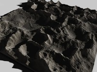 3d landscape mountainous