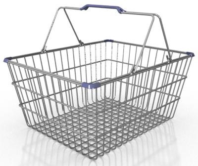 3d res shopping basket model