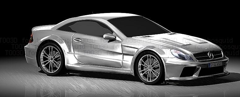 3d model sl amg