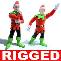 maya rigged animation modelled