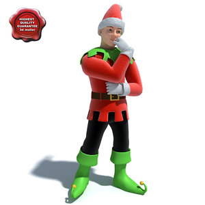 3ds max elf modelled