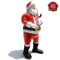 Santa Claus Pose1
