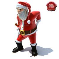 Santa Claus Pose3