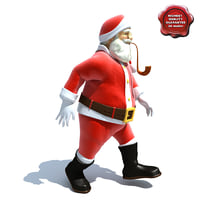 3ds max santa claus pose4
