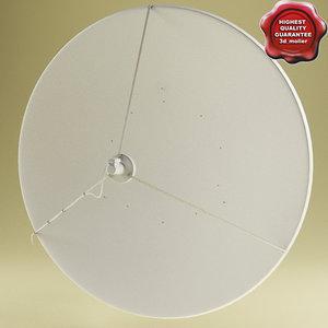 satellite aerial v3 c4d
