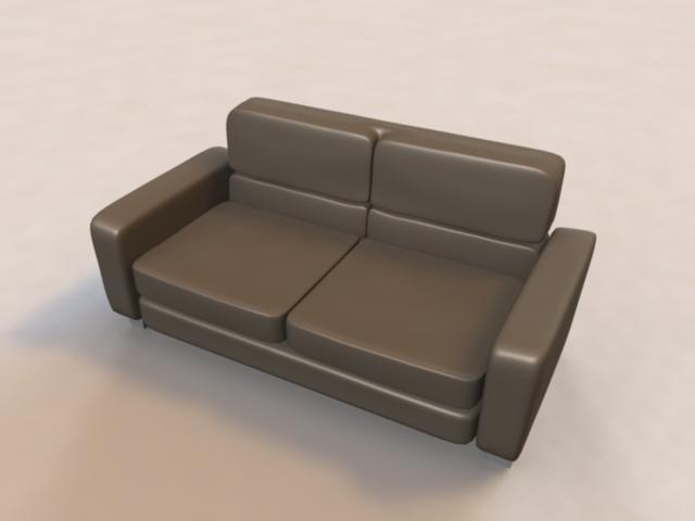 3ds sofa livingroom