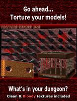 3d torture fun props model