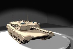 lwo m1a1 abrams tank