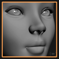 maya female head