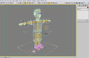 maya character rigged