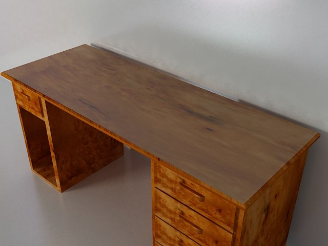 desk table 3d model
