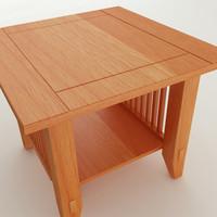 end table obj