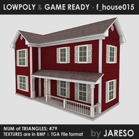 3dsmax family - f house015