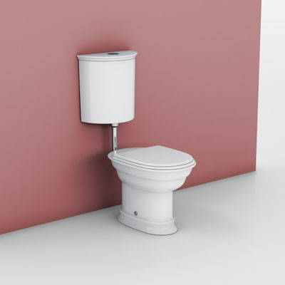 hatria dolcevita toilet 3d max