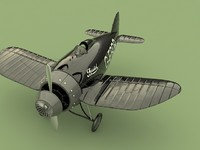 Brisrol Racer Airplane