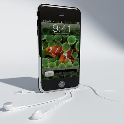 iphone 3d max