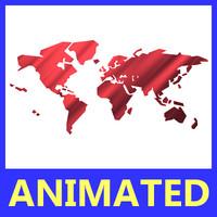 maya smooth opening earth animation