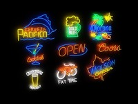 neon signs max