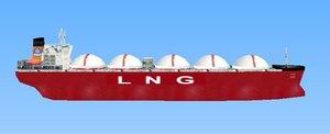 3ds lng vessel