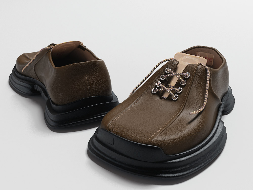 leather shoe max