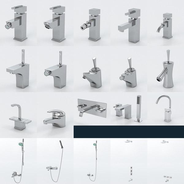 faucets taps 3ds
