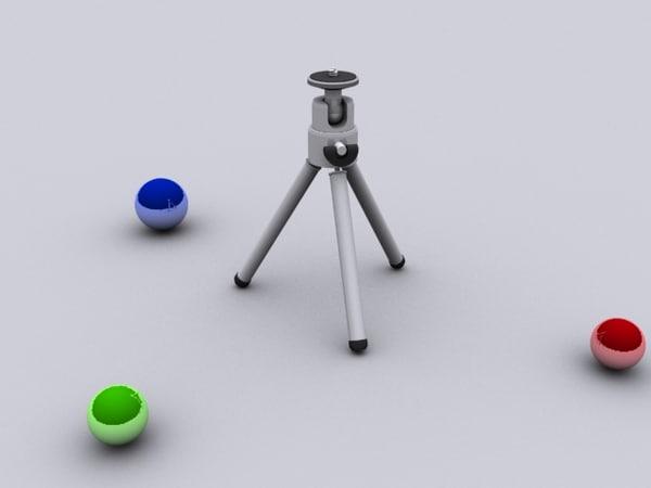 3d max digital camera tripod