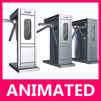 maya loop turnstile turning animation
