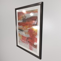 wall mounted picture & frame_C4D.zip