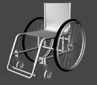 Daily use wheelchair