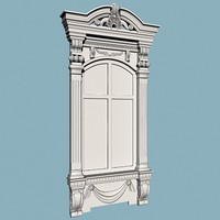 decorative window 3d max