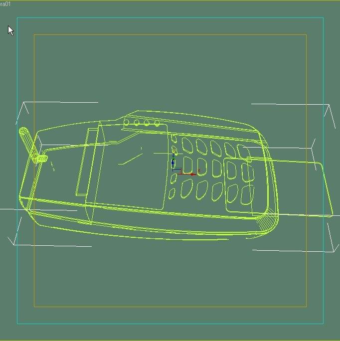 3d wireless credit card pinpad model