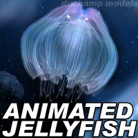3ds max jellyfish animations