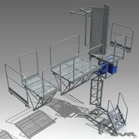 climbing platform work 3ds