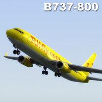 3dsmax bowen 737-800