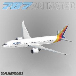 maya b787-9 air pacific 787-9