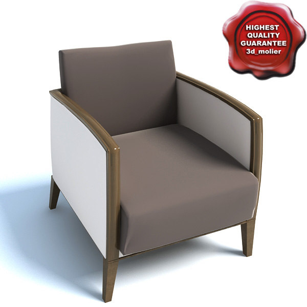 armchair 01841 3d model