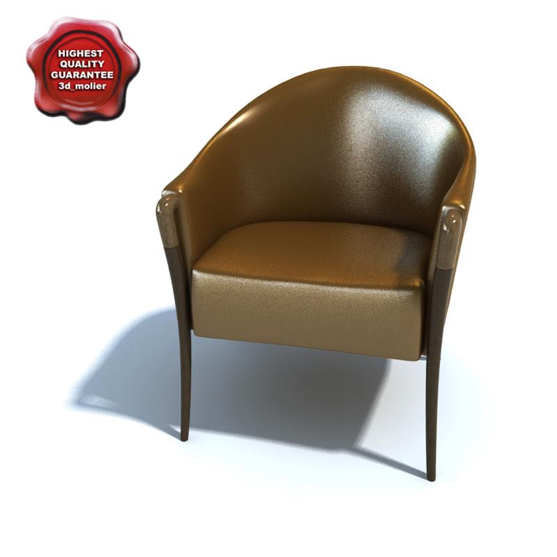 3d model armchair l