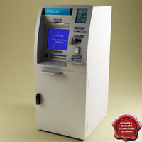3d 3ds atm machine procash 2100