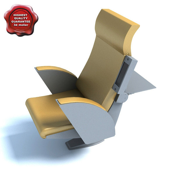 3d model conference room chair erasmus