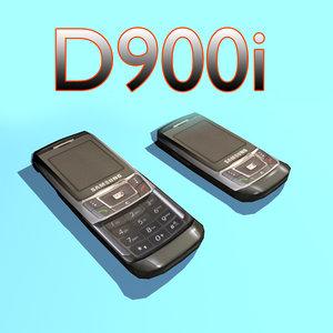 samsung d900i mobile phone max