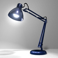 maya office desk lamp
