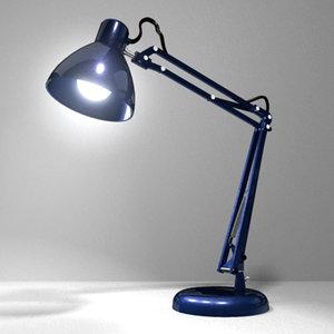 maya office desk lamp