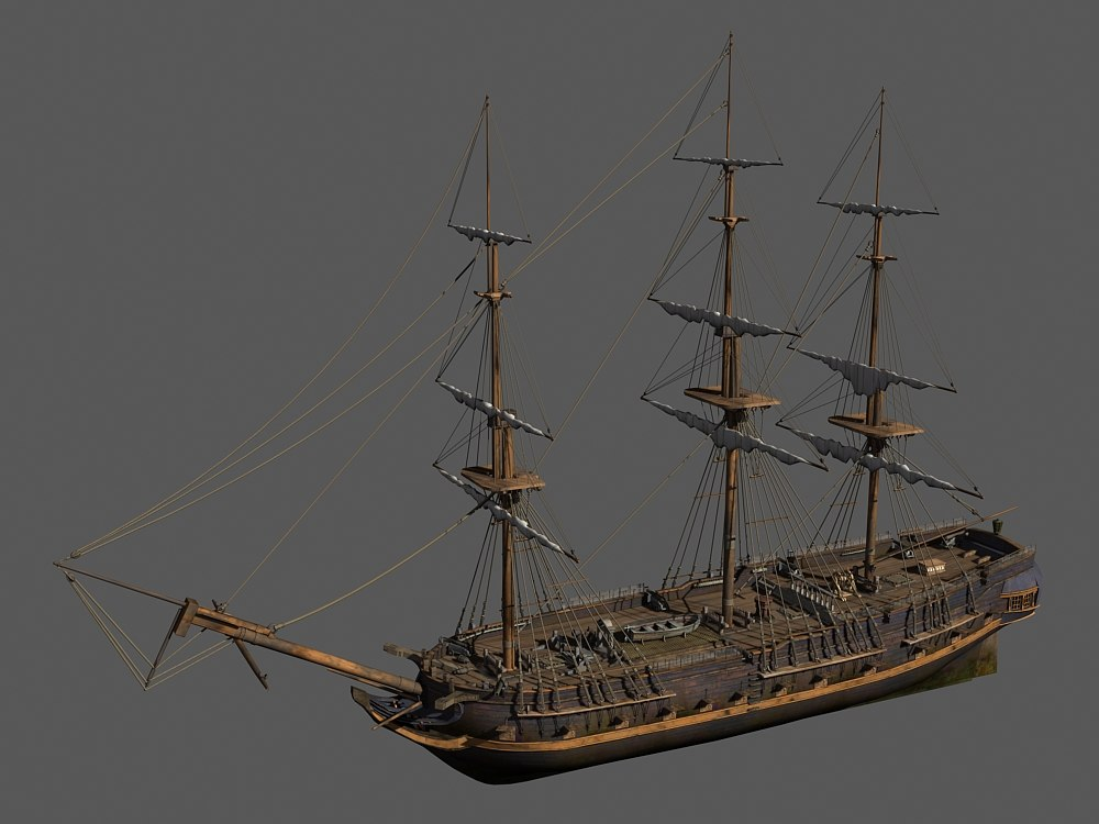 3d model inspired hms surprise english
